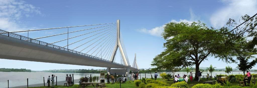 アフリカ開発研究会  ※現在実施中のウガンダのジンジャ橋プロジェクト (1)