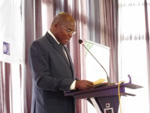 ケニア政府地方分権・計画省のムチリ管理部長もスピーチ