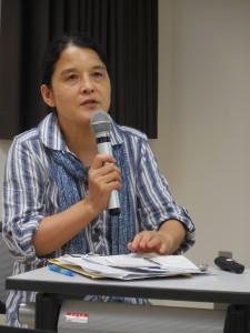 津山直子氏(アフリカ日本協議会代表理事)